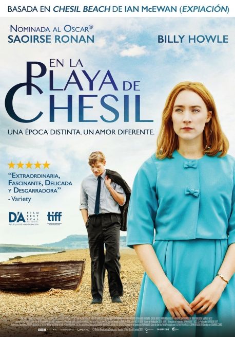 Cartel EN LA PLAYA DE CHESIL