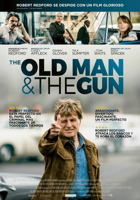 Cartel THE OLD MAN AND THE GUN
