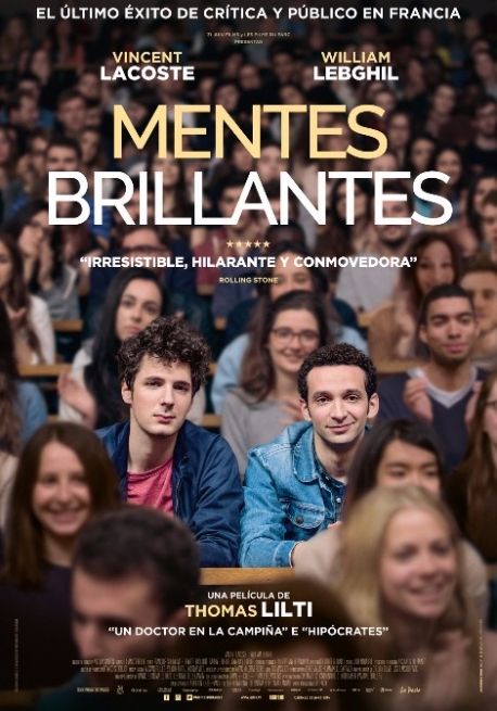 Cartel MENTES BRILLANTES