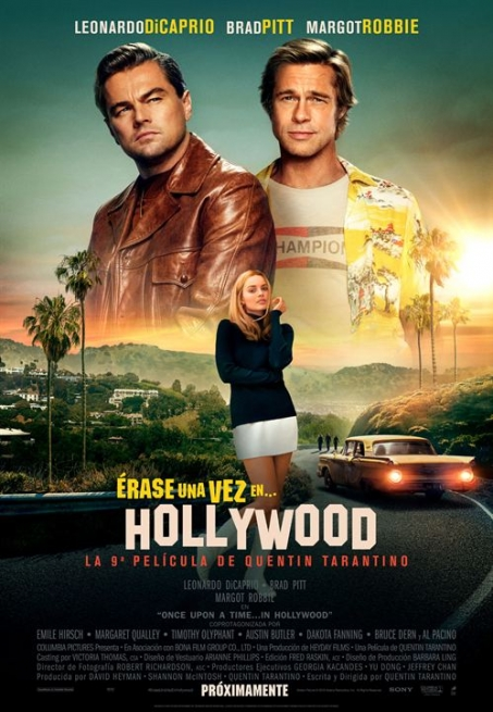 Cartel ÉRASE UNA VEZ EN HOLLYWOOD